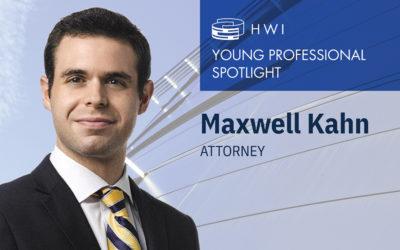 Maxwell Kahn – Young professional spotlight