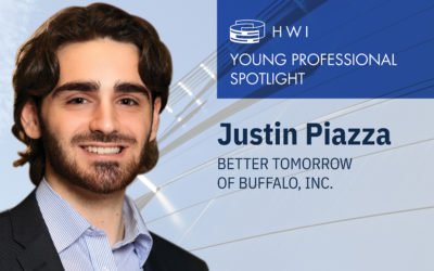 Justin Piazza – Young professional spotlight
