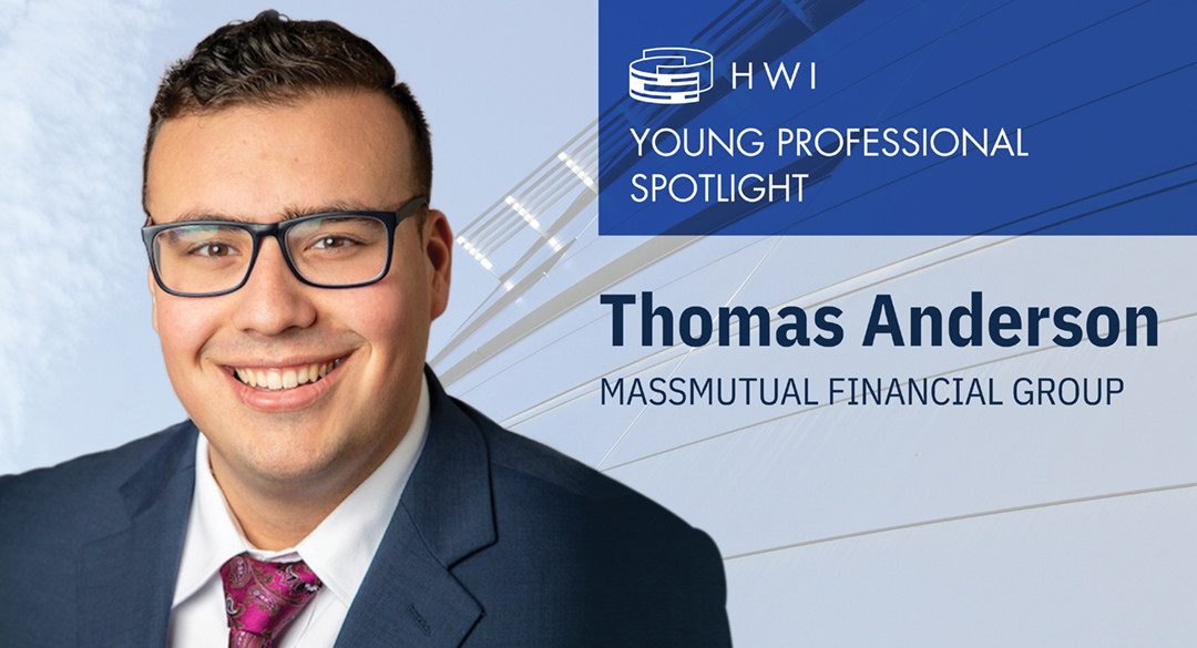 Tom Anderson – Young professional spotlight