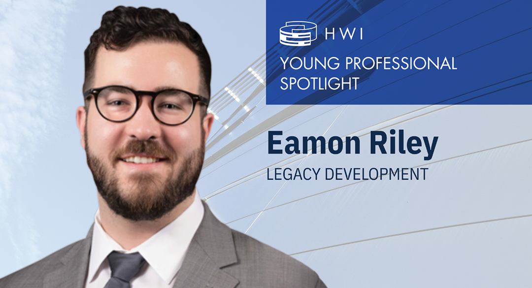 Eamon Riley – Young professional spotlight