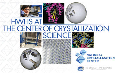Hauptman-Woodward Medical Research Institute Crystallization Center Awarded Major Grant by National Institutes of Health